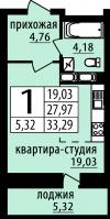 Планировка #117