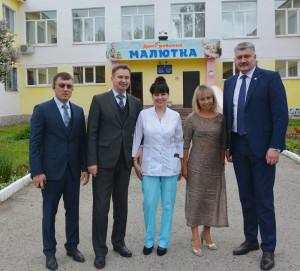 Алексей Лапшин поздравил воспитанников Дома ребенка «Малютка» с праздником